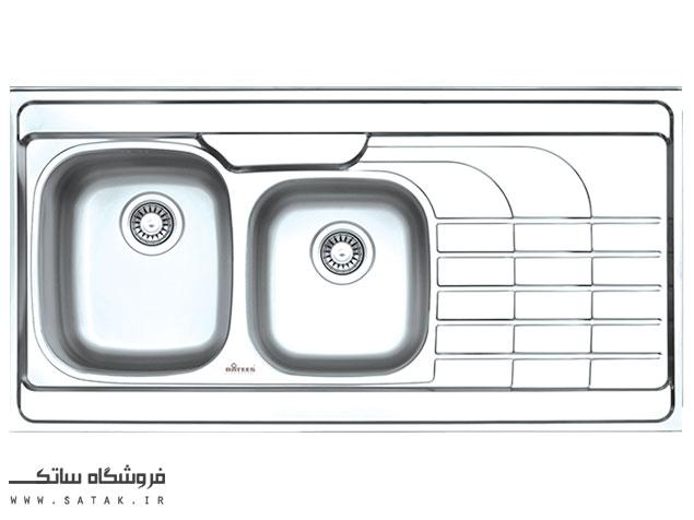 سینک ظرفشویی استیل داتیس مدل D-A 115