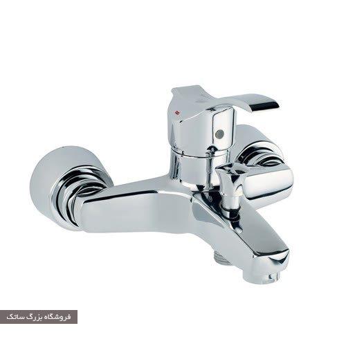 شیر حمام قهرمان مدل آبشار