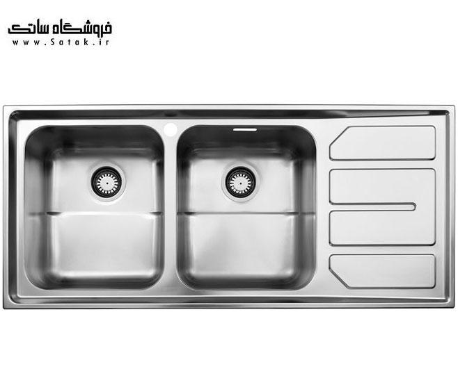 سینک ظرفشویی 763 استیل البرز