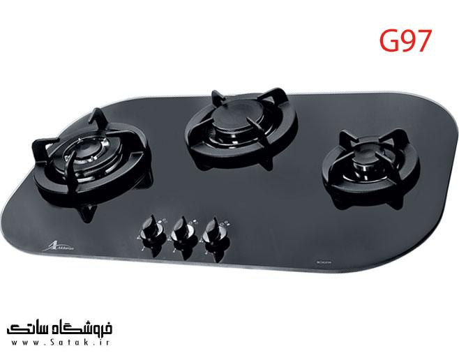 اجاق گاز رومیزی اخوان g97