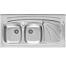 سینک ظرفشویی اخوان مدل 121sp