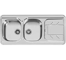 سینک ظرفشویی اخوان مدل 156