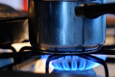 گاز آشپزخانه