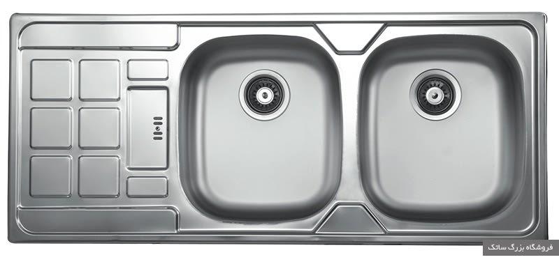 سینک ظرفشویی کن مدل 317