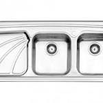 سینک روکار استیل البرز مدل 612