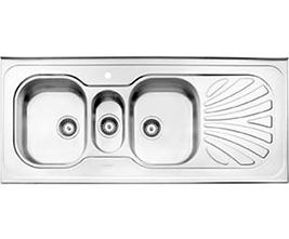 سینک استیل البرز 530 روکار