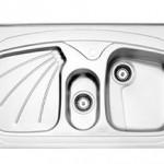 سینک روکار استیل البرز مدل 610