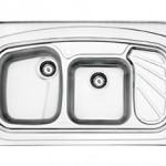 سینک روکار استیل البرز مدل 611