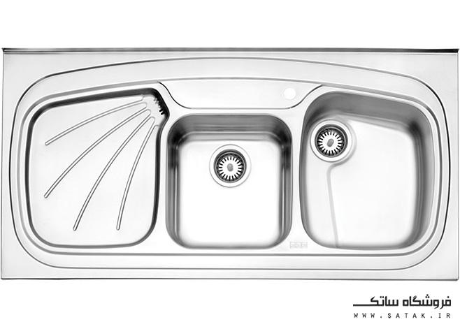 استیل البرز سینک 614 روکار