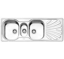سینک استیل البرز مدل 530 توکار