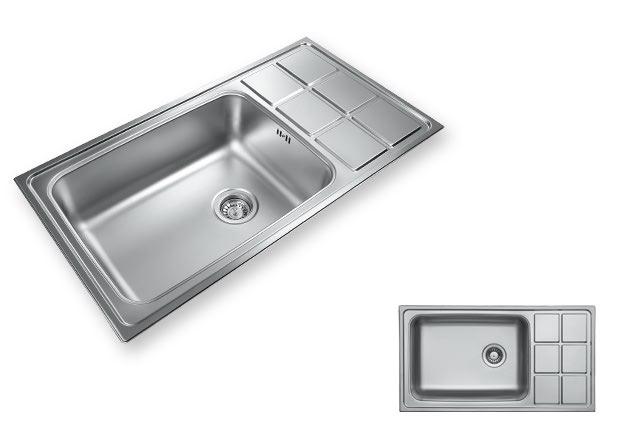 سینک ظرفشویی لگن بزرگ