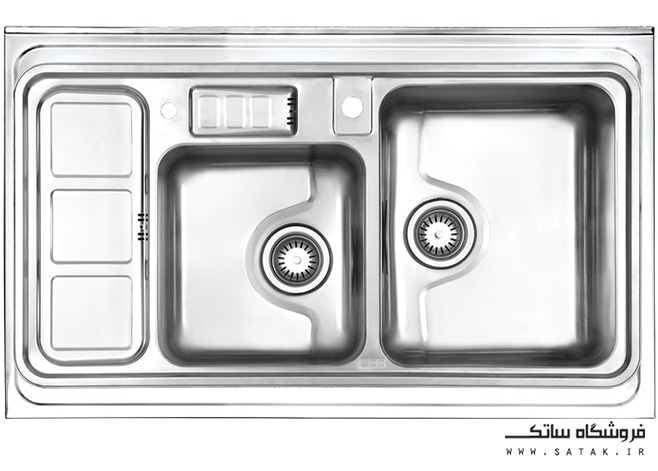 سینک 813 استیل البرز روکار