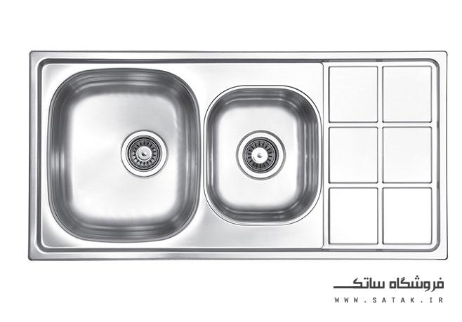 سینک ظرفشویی لتو مدل Tx 16