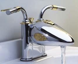 تولید شیر آب با الهام گرفتن از موتور هارلی دیویدسون