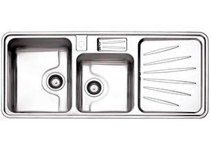 سینک استیل البرز مدل 814 توکار
