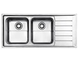 سینک استیل البرز مدل 735 توکار