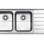 سینک توکار استیل البرز مدل 735