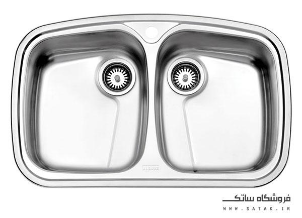 سینک 628 استیل البرز توکار
