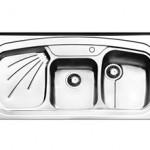 سینک ظرفشویی روکار ایلیا استیل مدل 1013