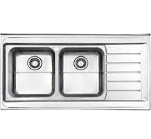 سینک استیل البرز مدل 735 روکار
