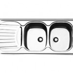 سینک ظرفشویی روکار ایلیا استیل مدل 1010