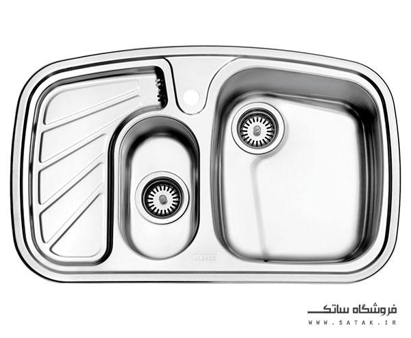سینک استیل البرز مدل 608