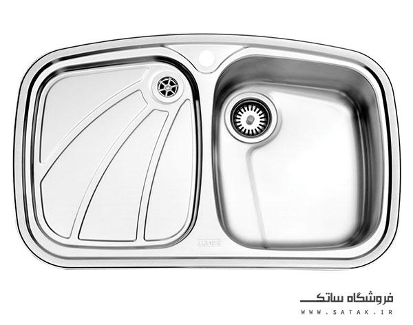 سینک 618 توکار استیل البرز