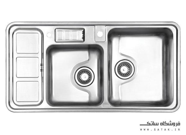 سینک 813 توکار استیل البرز