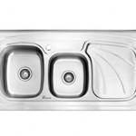 سینک ظرفشویی روکار بیمکث مدل BS 910