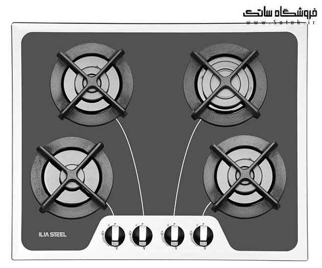 گاز صفحه ای ایلیا استیل مدل G408