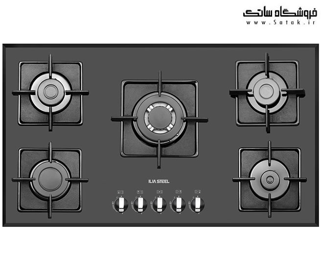 گاز صفحه ای ایلیا استیل مدل G 506