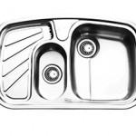 سینک توکار ایلیا استیل مدل ۲۰18 سایز 80*50