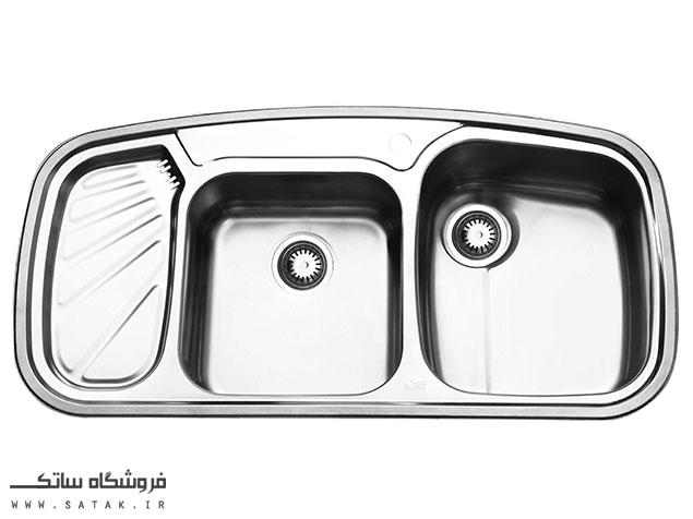 سینک توکار ایلیا استیل مدل 2020