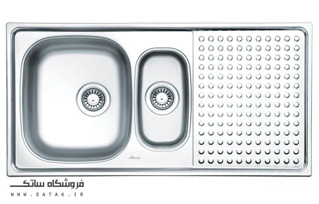 سینک ظرفشویی توکار داتیس مدل D-B 122