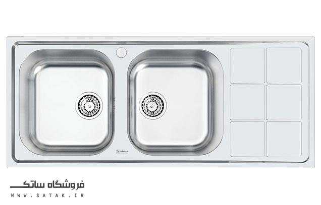 سینک ظرفشویی توکار داتیس مدل D-B 128