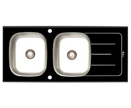 سینک داتیس شیشه ای مدل DSG 119