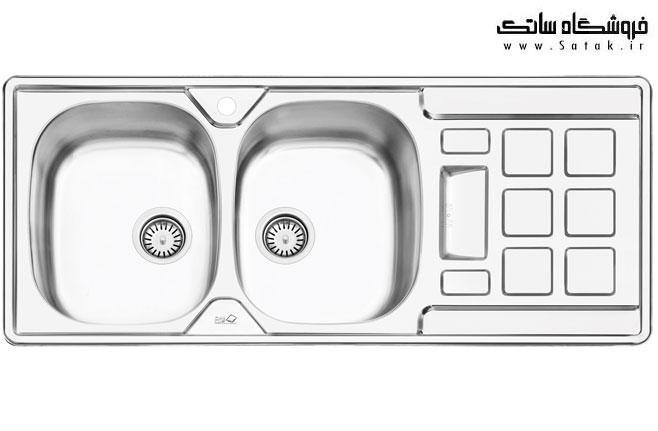 سینک ظرفشویی 2021 ایلیا استیل