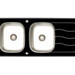 سینک داتیس شیشه ای مدل DSG 122
