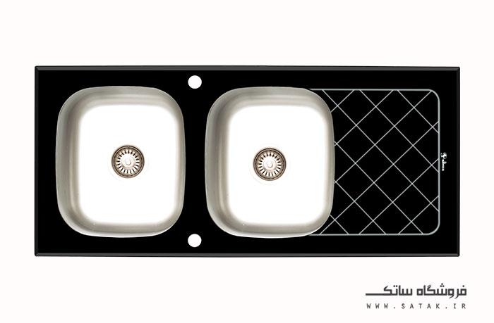 سینک شیشه ای داتیس مدل 120
