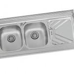 سینک ظرفشویی روکار درسا مدل DS 338