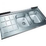 سینک ظرفشویی روکار درسا مدل DS 332