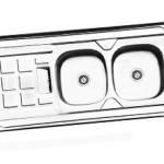 سینک ظرفشویی روکار درسا مدل DS 323