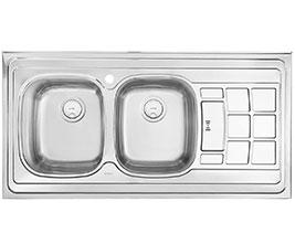 سینک ظرفشویی روکار درسا DS 323