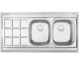 سینک ظرفشویی روکار درسا DS 332