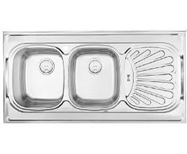 سینک آشپزخانه درسا روکار DS 337