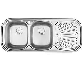 سینک ظرفشویی توکار درسا Ds 112