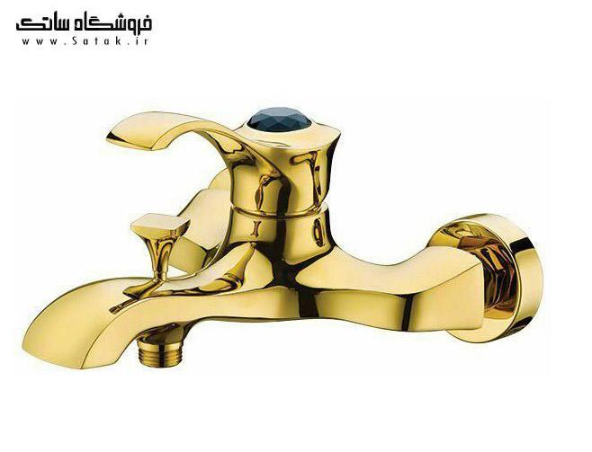 شیر حمام تابان طلایی شیبه