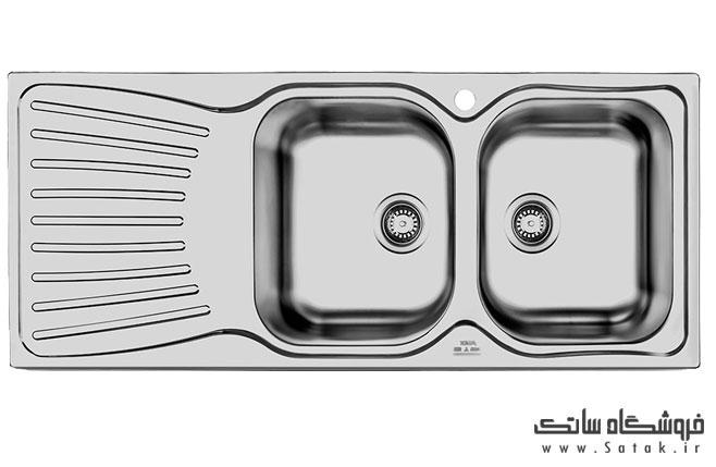 سینک الکس مدل 210 لگن راست