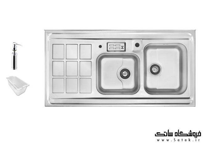 سینک ظرفشویی 364 اخوان روکار