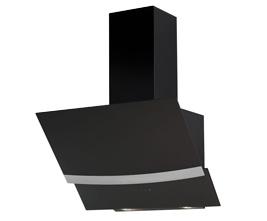 هود شیبدار میکس مدل CTW 1490 B مشکی